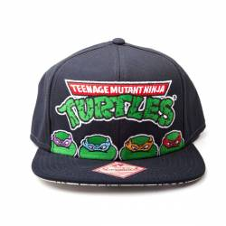 Teenage Mutant Ninja Turtles Snap Back Baseball Cap 4 Turtles