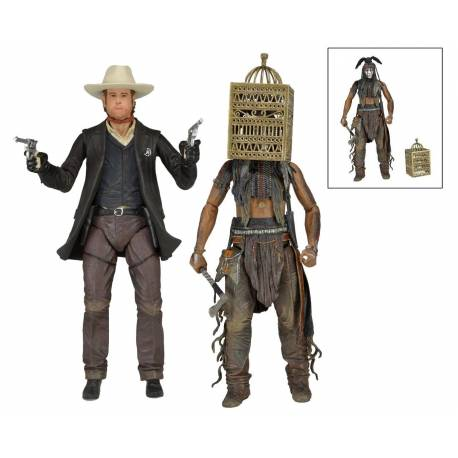 The Lone Ranger Deluxe Action Figures 18 cm Series 2 Assortment