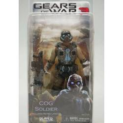 Gears of War Series 3 7-inch Action Figure - COG Soldier 18 cm