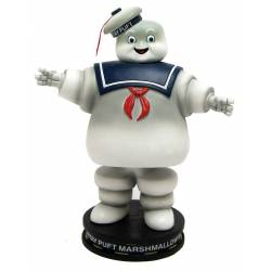 Ghostbusters Deluxe Shakems Bobble Statue Stay Puft Marshmallow Man 18 cm