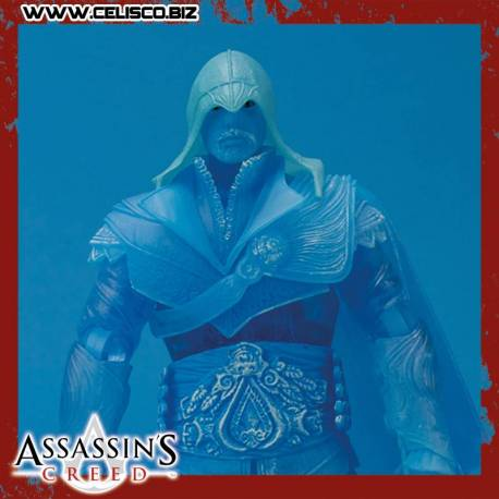 Assassin's Creed Brotherhood Action Figure Eagle Vision Ezio SDCC 2012 Exclusive 18 cm