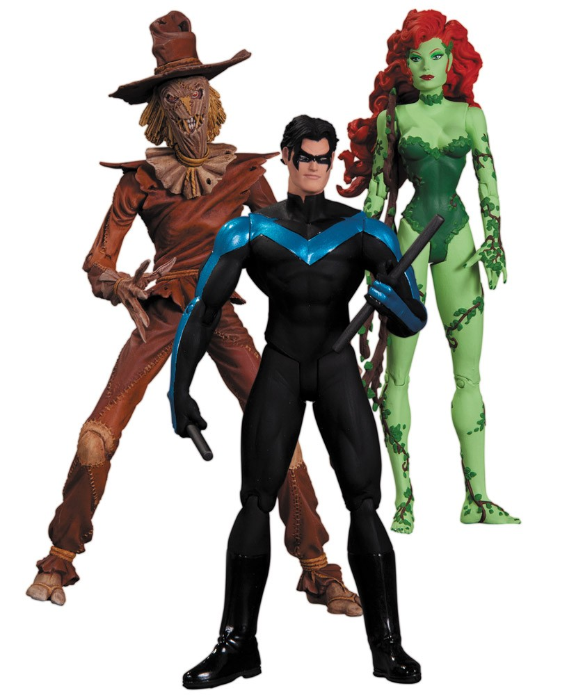 Batman Hush Action Figure Box Set Scarecrow Nightwing Poison Ivy 17 Cm Celisco