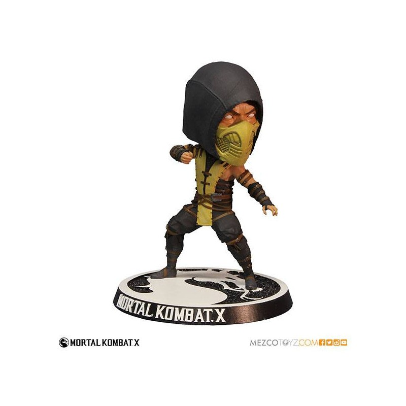 Mortal Kombat X Bobble Head Scorpion 15 Cm