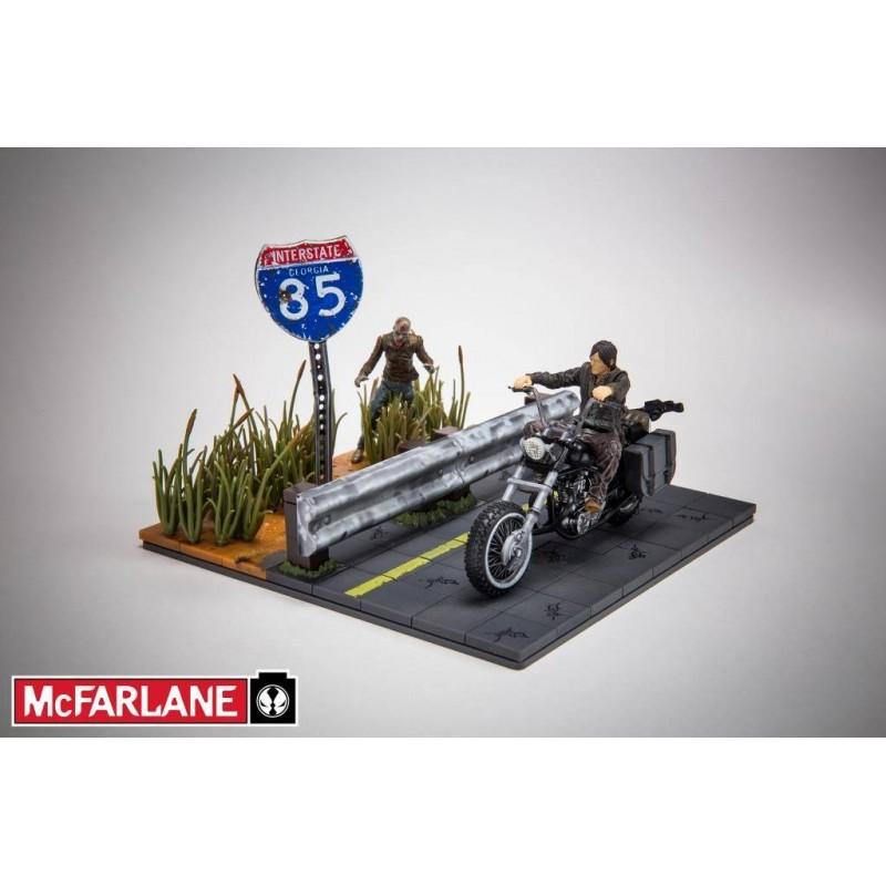 McFarlane Walking Dead Building Construction Set Series 1 Daryl Dixon